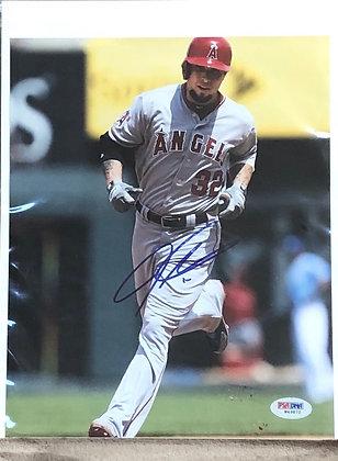 Josh Hamilton Angels signed 8x10 unframed Photo PSA/DNA certified