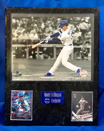 Cody Bellinger Dodgers w Rookie 12x15 sports plaque