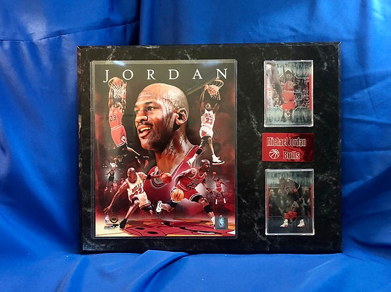 Michael Jordan Bulls 12x15 sports plaque