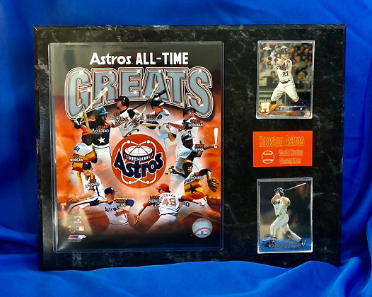 Houston Astros All-Time Greats 12x15 sports plaque