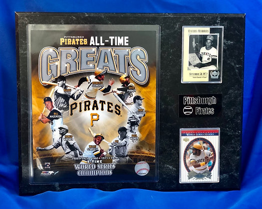 Pittsburgh Pirates All-Time Greats 12x15 sports plaque