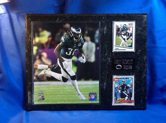 Jay Ajayi Eagles 12x15 sports plaque