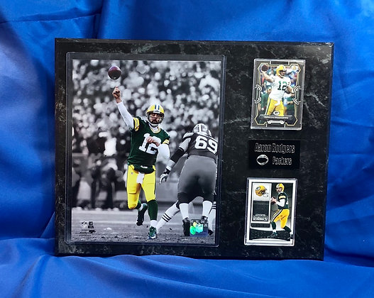 Aaron Rodgers Packers 12x15 sports plaque