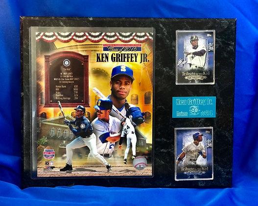 Ken Griffey Jr Mariners 12x15 sports plaque