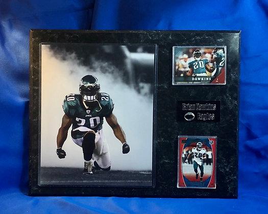 Brian Dawkins Eagles 12x15 sports plaques