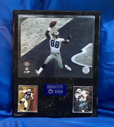 Michael Irvin Cowboys 12x15 sports plaque