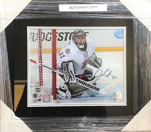 Jonathan Quick Kings signed custom frame 8x10 Quick HOLO certified