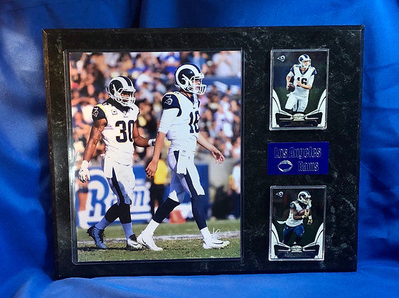 Todd Gurley & Jared Goff 12x15 sports plaques