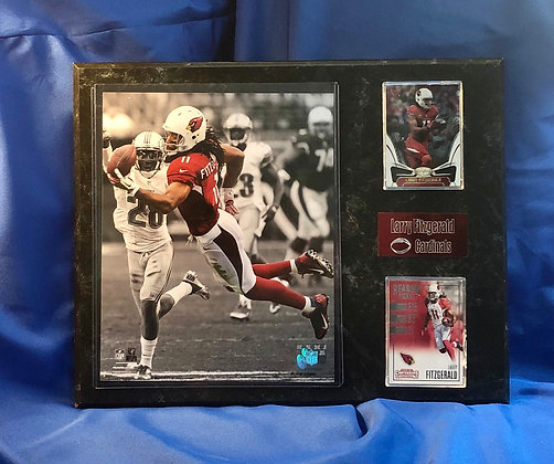 Larry Fitzgerald Cardinals 12x15 sports plaque