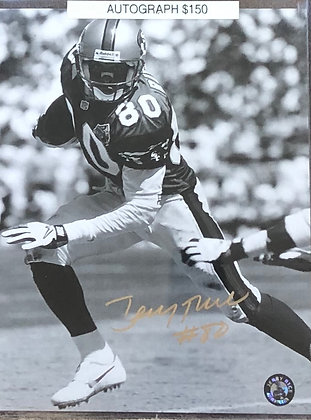 Jerry Rice 49ers signed 8x10 unframed Photo Rice HOLO certified