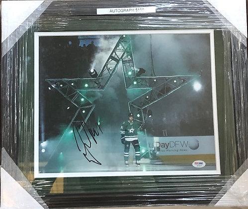 Tyler Seguin Stars signed frame 11x14 PSA/DNA certified