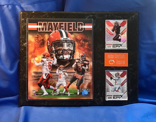 Baker Mayfield Browns 12x15 sports plaque