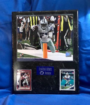 Ezekiel Elliott Cowboys 12x15 sports plaque