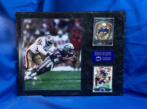 Steve Largent Seahawks 12x15 sports plaque