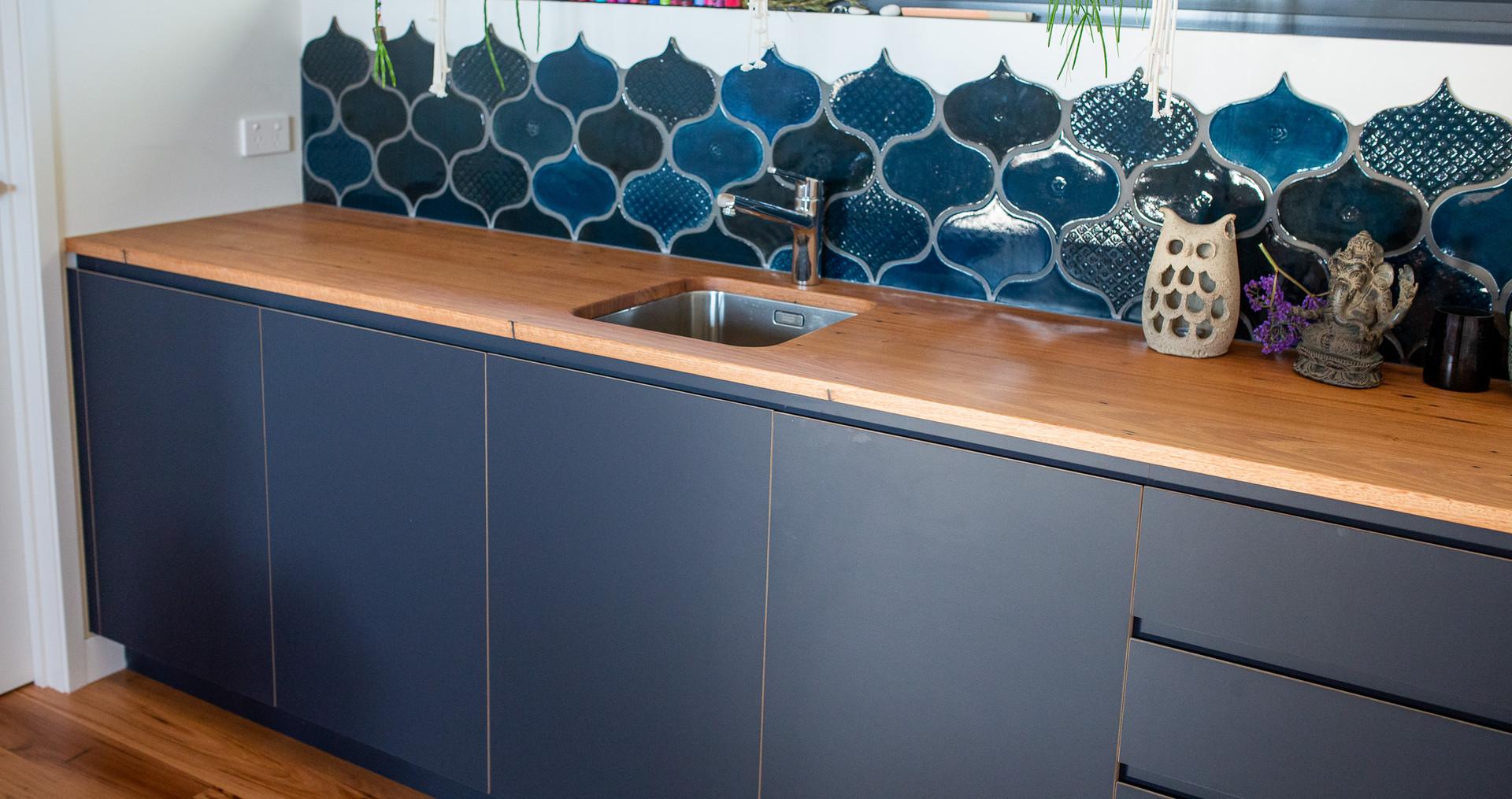 Timber Kitchen Bench Design