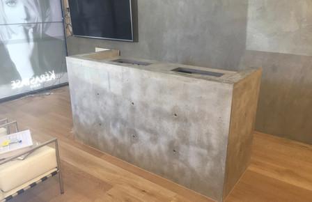 Geelong - Commerical Concrete Reception Desk
