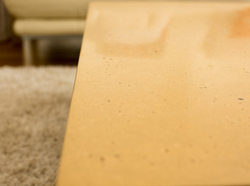 Sand Colour Concrete Coffee Table - Torquay