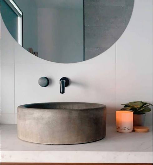 Concrete basin