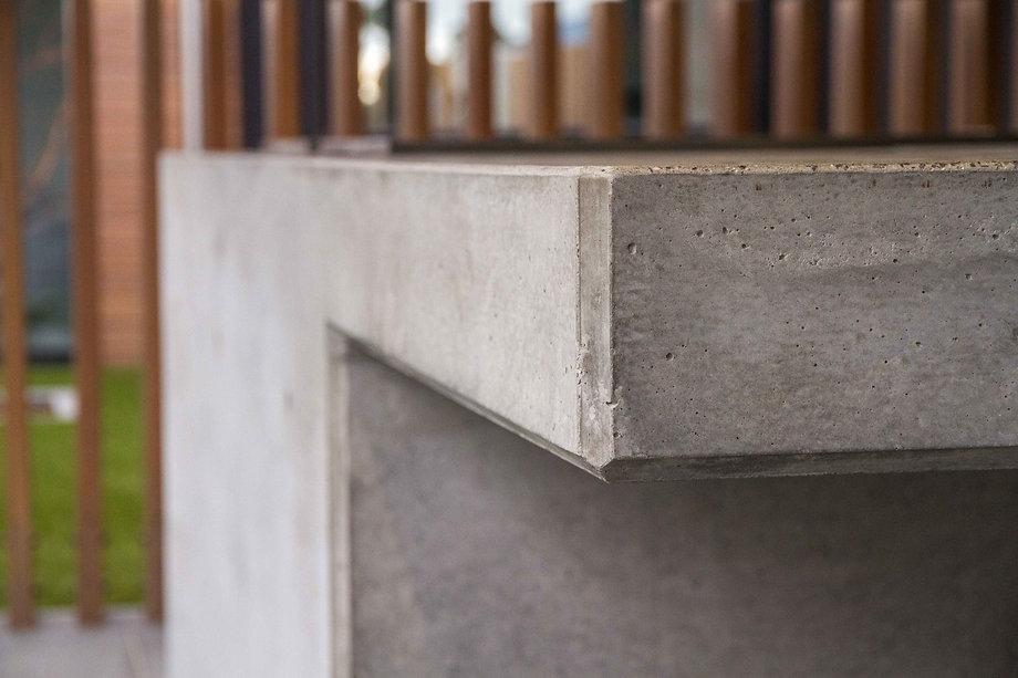 Architectural Concrete Edge Detail