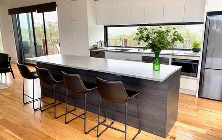 Airey's Inlet - Precast Concrete Kitchen Benchtops