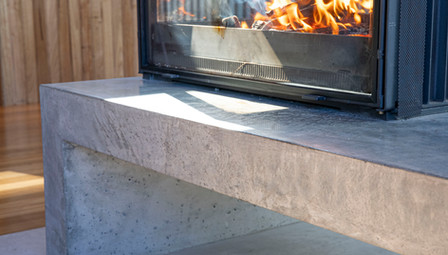 1. Concrete Fire Hearth Cheminees Philippe - Lorne