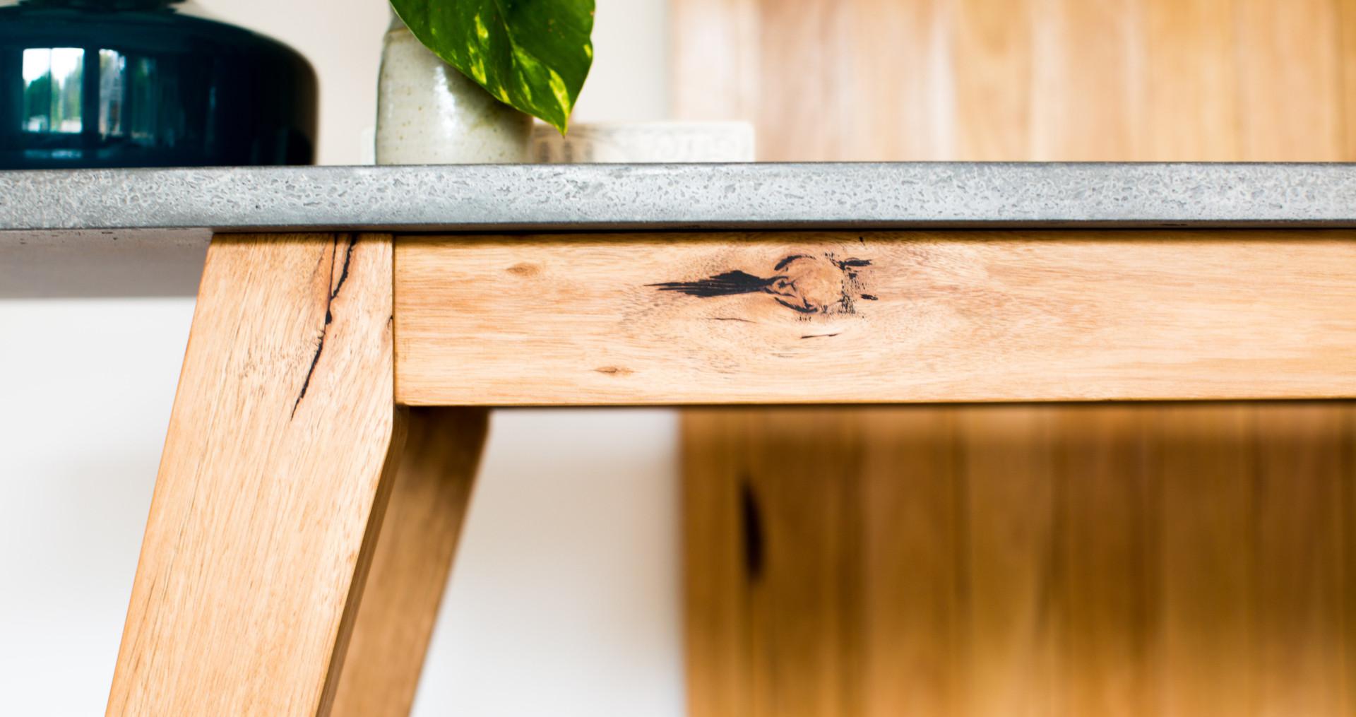 Custom Concrete Hall Table - Lorne