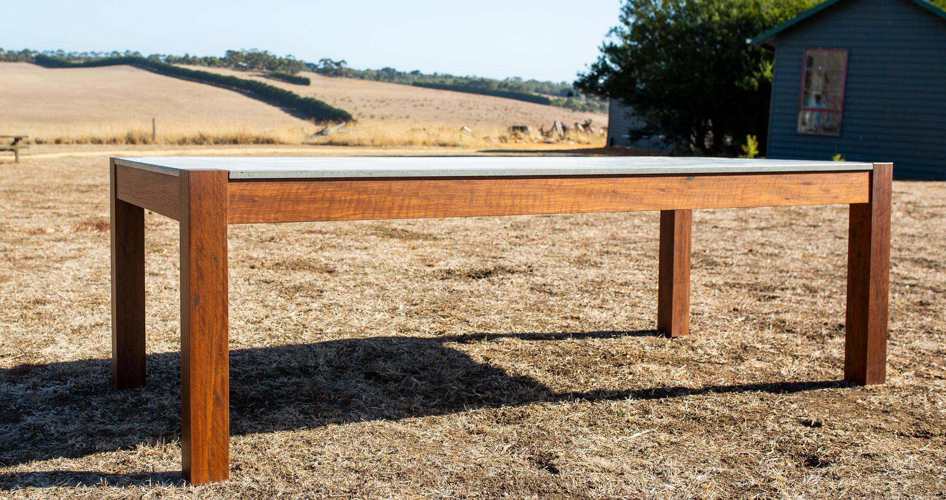 Custom Concrete Table - Melbourne
