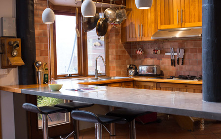 Jan Juc - Concrete and Timber Kitchen Benchtop