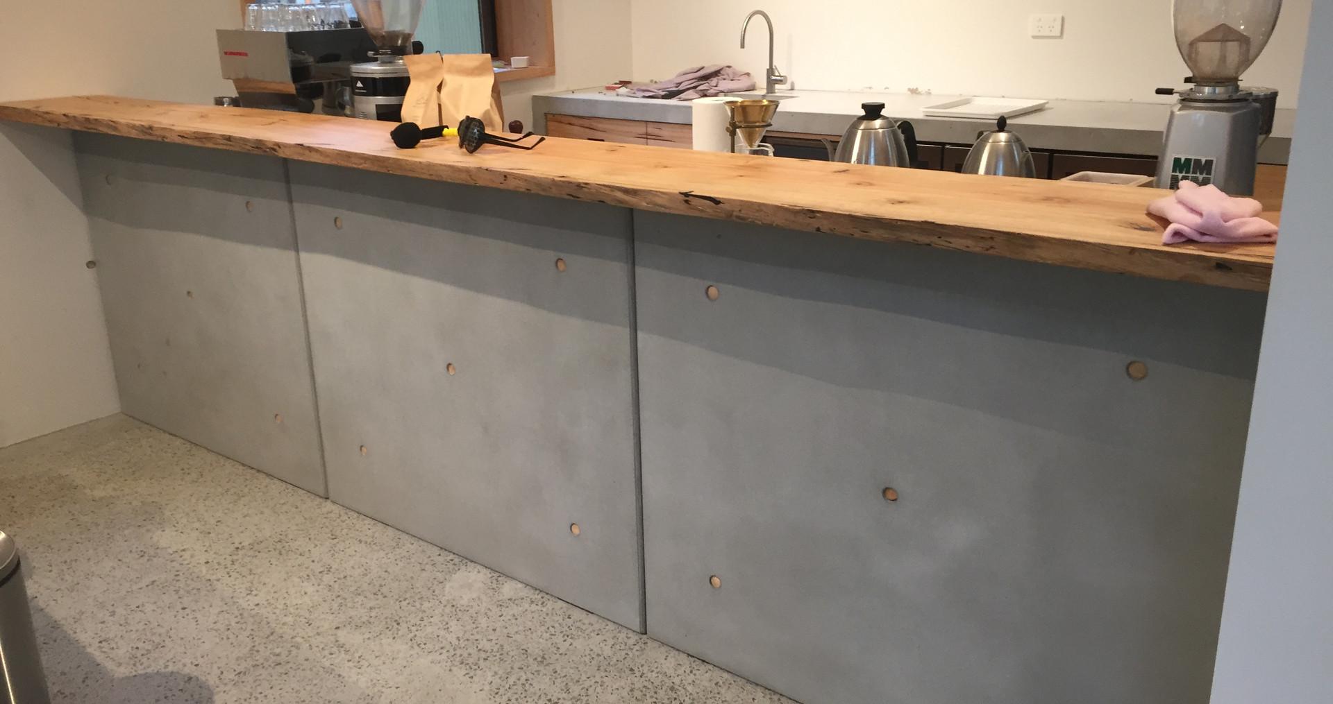 Concrete Kitchen Wall Panels