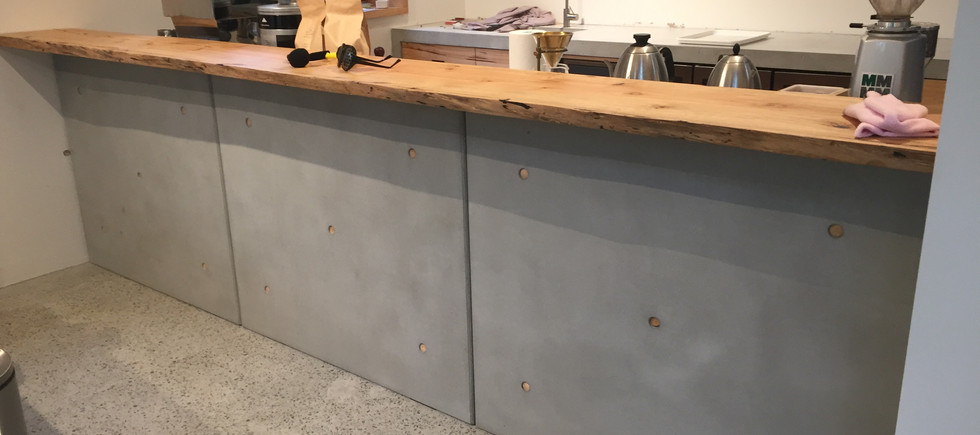 Concrete Kitchen Wall Panels