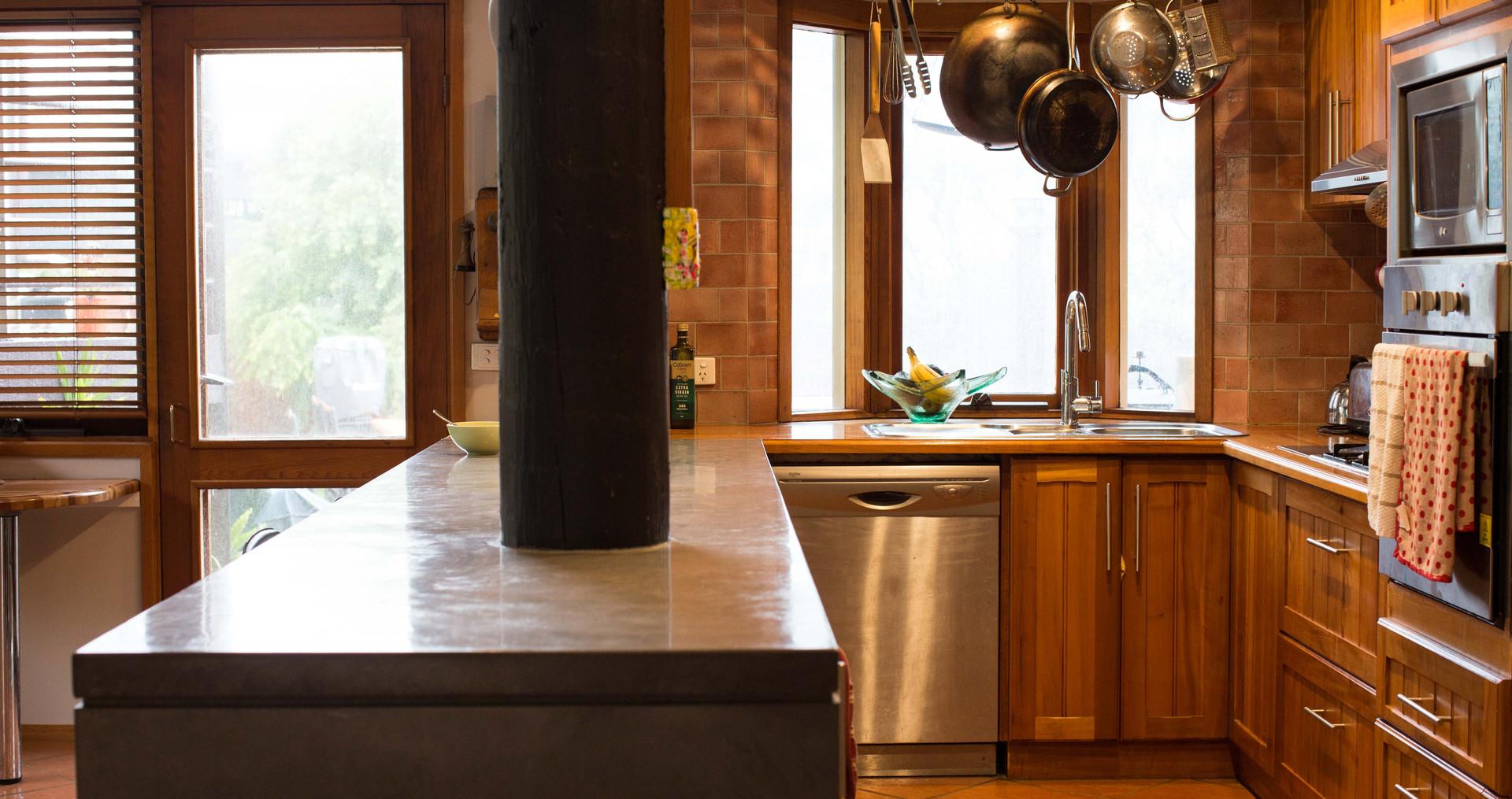 Cast In-Situ Concrete Kitchen