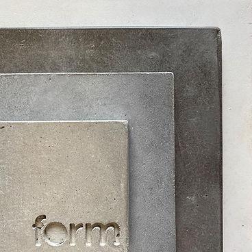 Form Concrete Studios Concrete Colour Samples