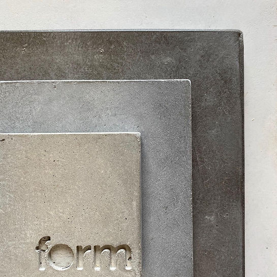 Form Concrete Artisans Grey Concrete Col