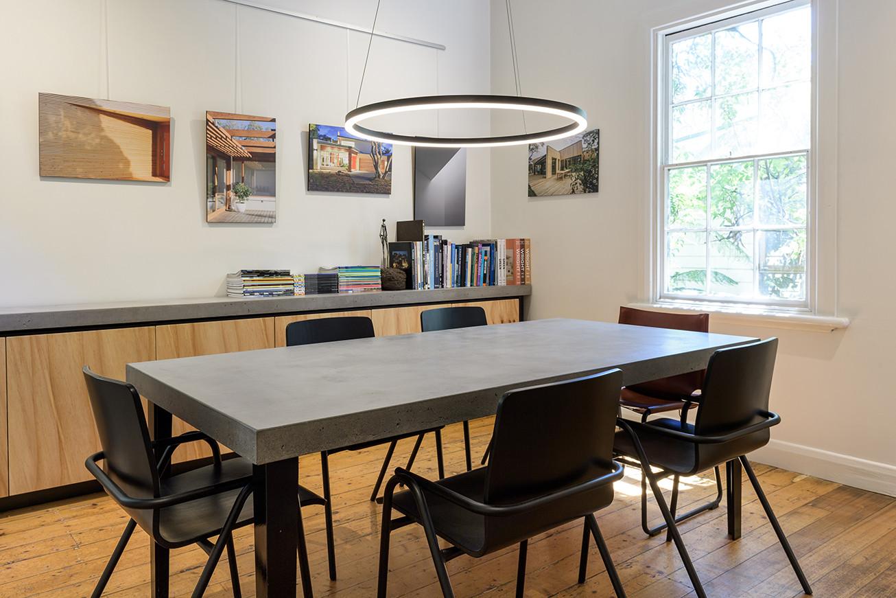 Custom Concrete Boardroom Desk - Lorne