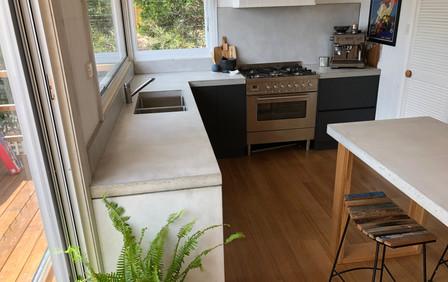Full Concrete Kitchen in Anglesea