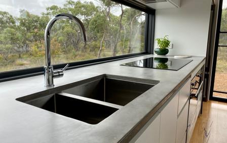 Airey's Inlet - Concrete Kitchen Benchtop