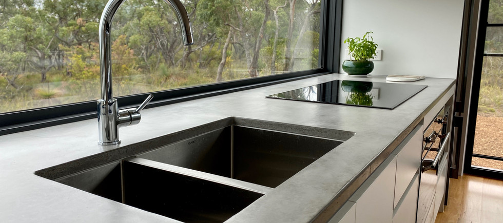 Airey's Inlet - Concrete Kitchen Benchtop