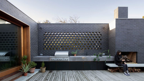 outdoor kitchen & architectural concrete