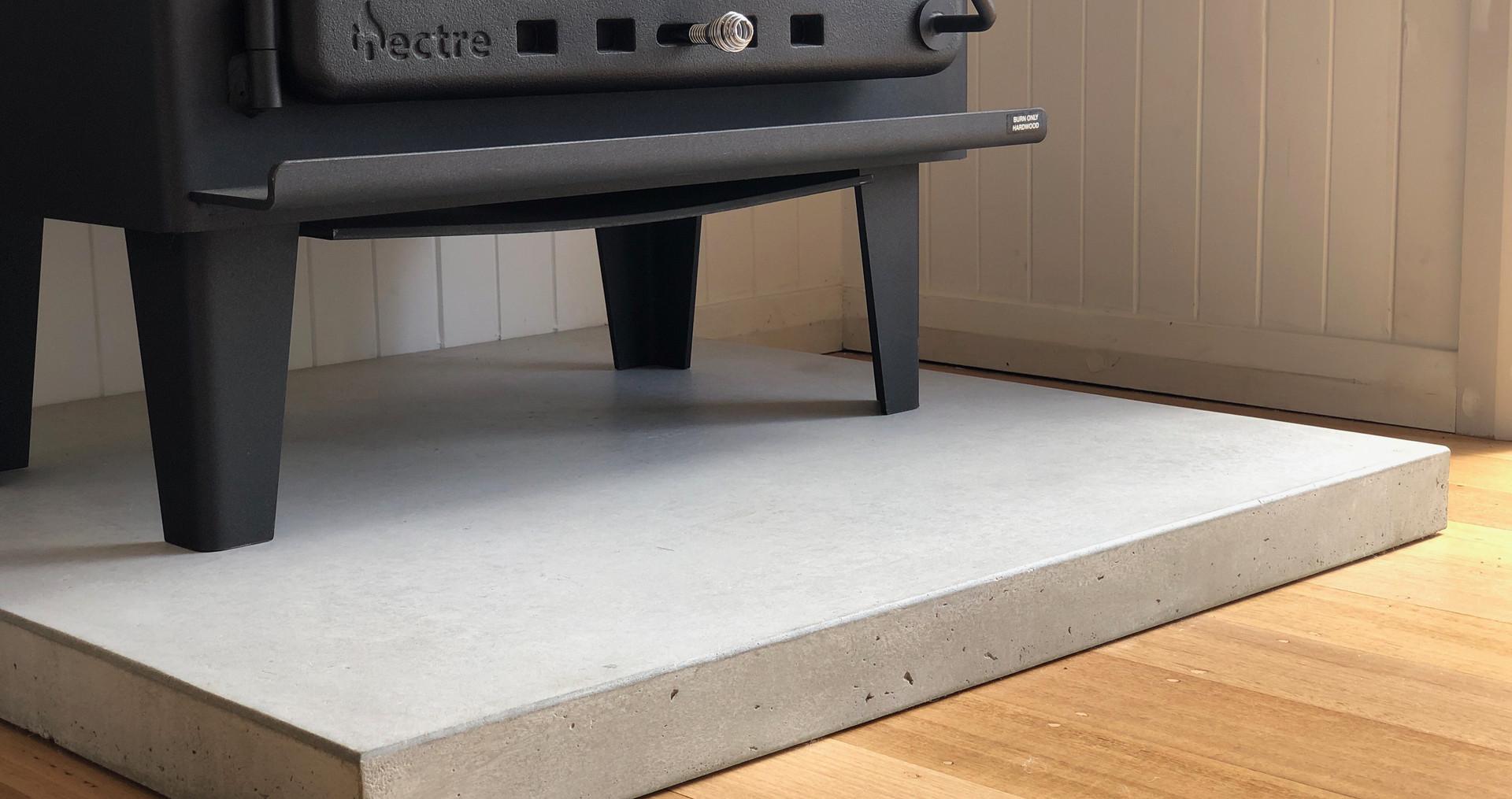 Anglesea - Concrete Fire Hearth Floor Slab