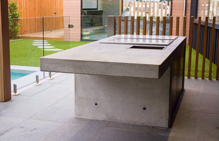 Torquay - Concrete Outdoor Kitchen