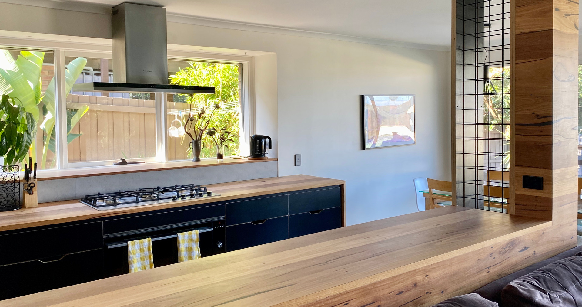 Recycled Timber Kitchen Benchtop