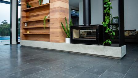 6. Concrete Fire Hearth Plinth - Torquay