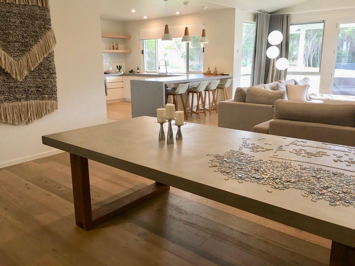 Custom Concrete Outdoor Table - Torquay