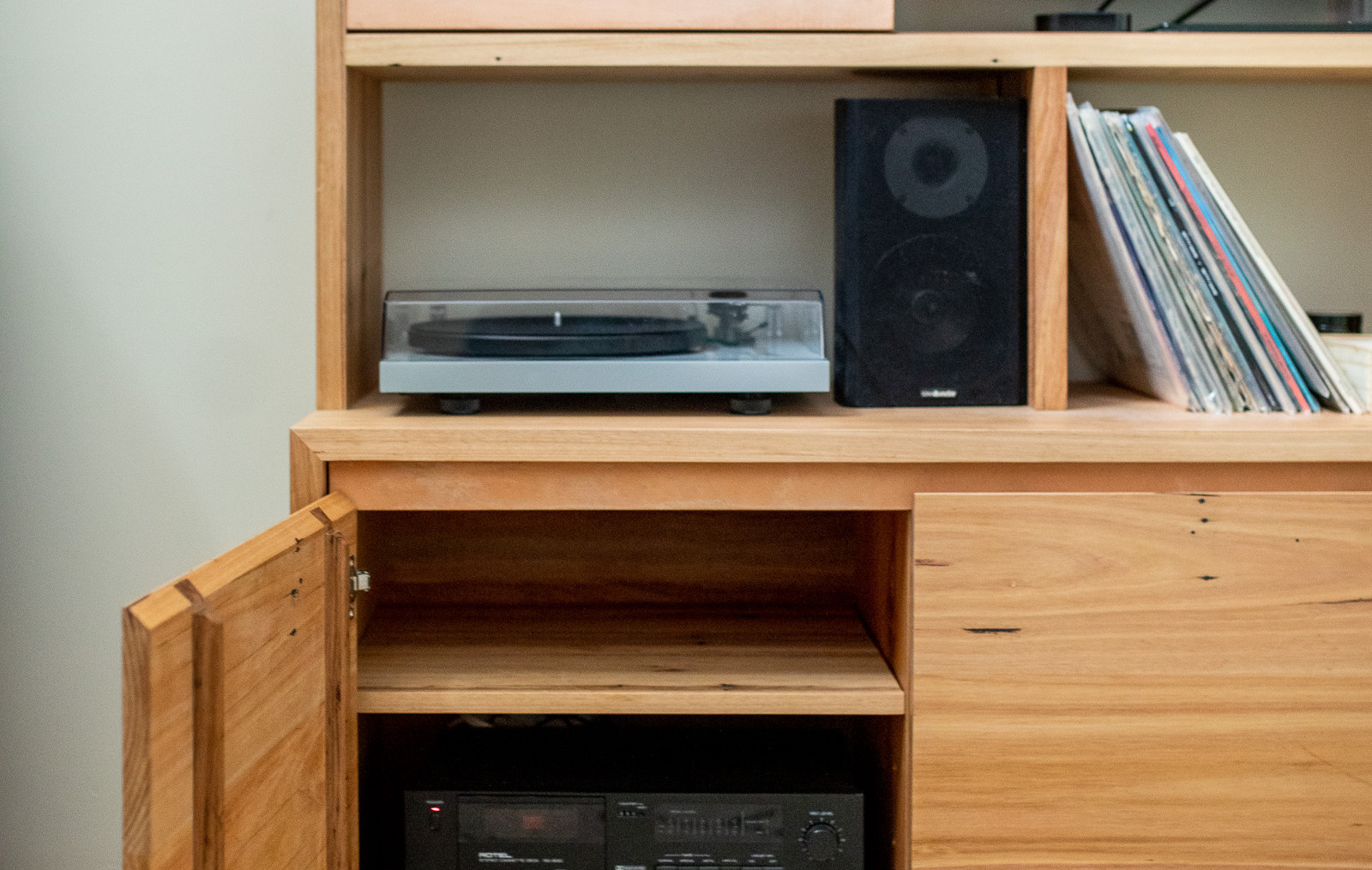 Custom Concrete & Timber Entertainment Unit - Torquay