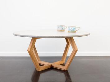 Custom Concrete Dining Table - Lorne