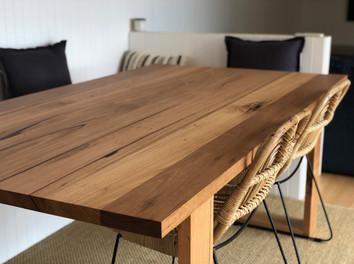 Custom Recycled Timber Table - Anglesea