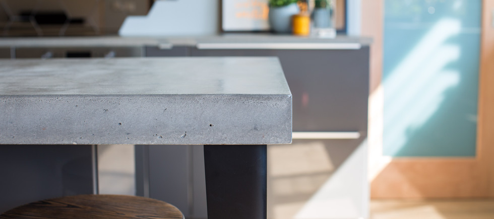 Concrete Benchtop Close up