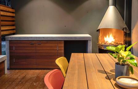 Torquay - Outdoor Kitchen BBQ Bench