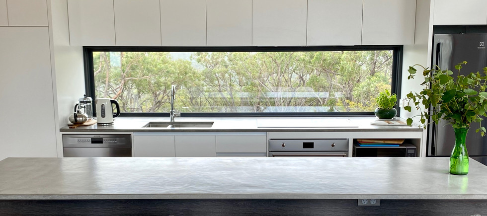Airey's Inlet - Concrete Kitchen Design