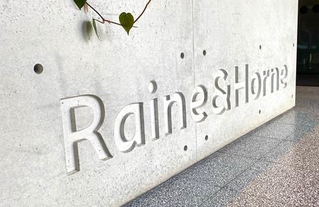 Raine and Horne Concrete Reception Desk